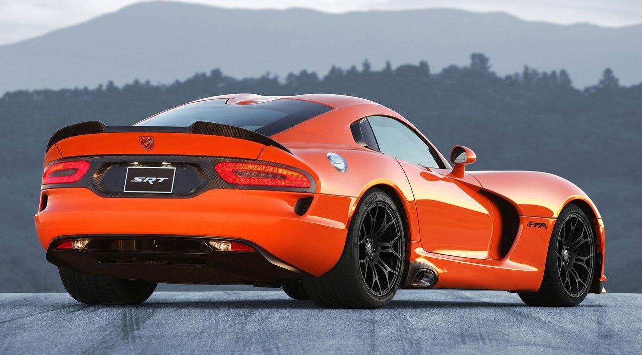 Viper #car #auto #orange