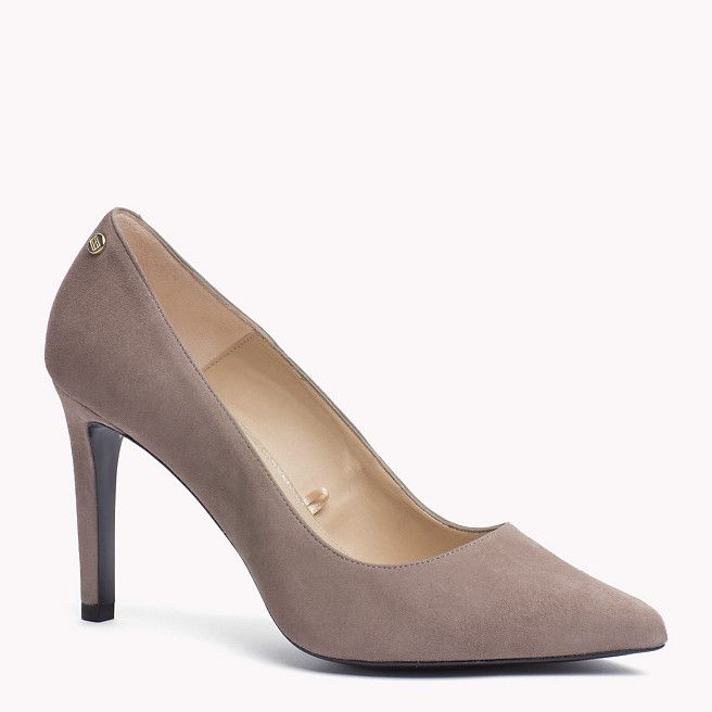 Tommy Hilfiger Suede Pump - colonial taupe (Brown) - Tommy Hilfiger Pumps - detail image 0