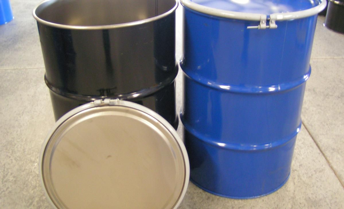New Steel Drums New Metal Drums In 55 Gallon Size New 55 Gallon Open Head Steel Drums And New 55 Gallon Tight He Steel Drum 55 Gallon Steel Drum Metal Drum