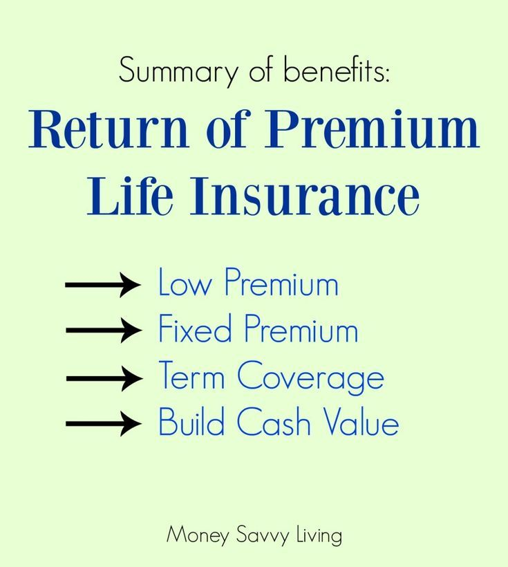 What is a Return of Premium Life Insurance Policy? And Why ...