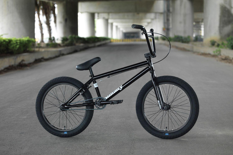 "2019 Sunday Scout 20/"" BMX Bike Matte Black Complete BMX Bicycle"