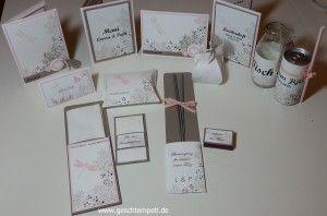 Awesomely Artistic Stampin up Hochzeit, Freudentränen, Bestecktasche, Wunderkerzen, Tischdeko, Tischkarte, Menükarte, Goodie, Einladung, Dankeskarte, wedding