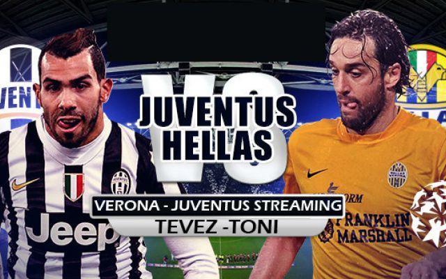 Verona-Juventus DIRETTA STREAMING HD GRATIS Sfida all'ultimo gol TEVEZ-TONI seguila QUI' Diretta Verona-Juventus. A meno di due ore e mezzo dal fischio d'inizio di Verona-Juventus i due tecnici non hanno ancora sciolto tutti i dubbi che li hanno tormentati durante la settimana. Per quant #juventus #streaming #verona