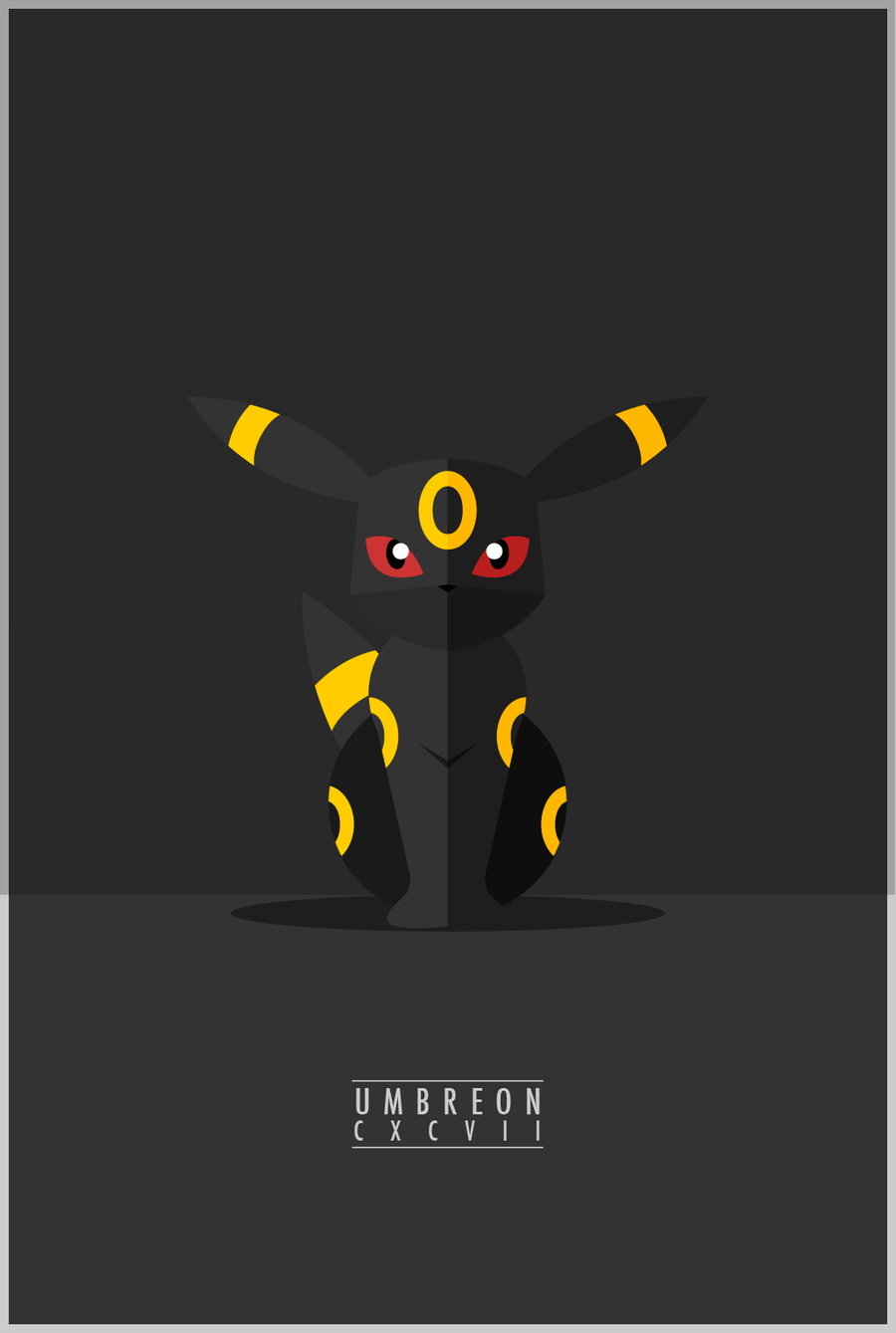 Umbreon : CXCVII by WEAPONIX.deviantart.com on @DeviantArt