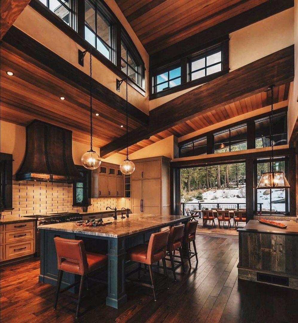 Pin By Sebastian Rodriguez Cabezas On La Casa Rustic House House Design Rustic Kitchen