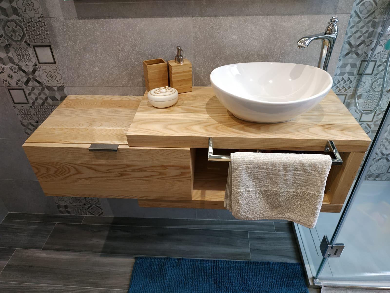 Mobile Sotto Mensola Bagno mobili e arredo bagno in legno massello - arena 60 mobile