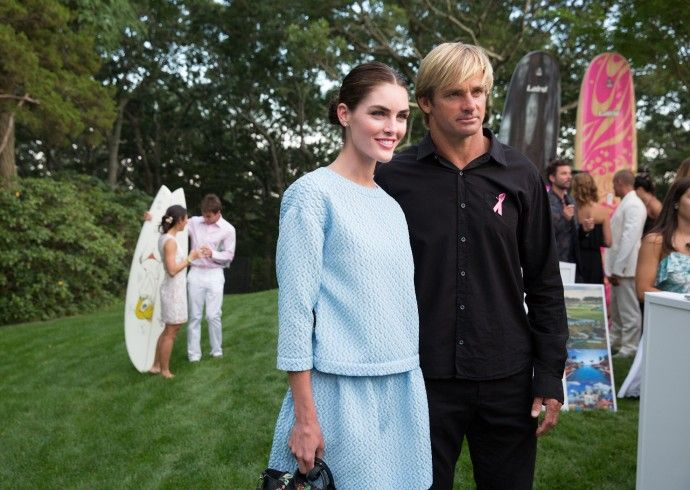 LOVE THE BLUE DRESS!! Maria Baum Sag Harbor   NEW KDHamptons Party Diary: Lisa & Richard Perry Party for Pink!