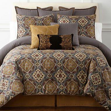 Jcpenney Com Royal Velvet Montague 4 Pc Comforter Set