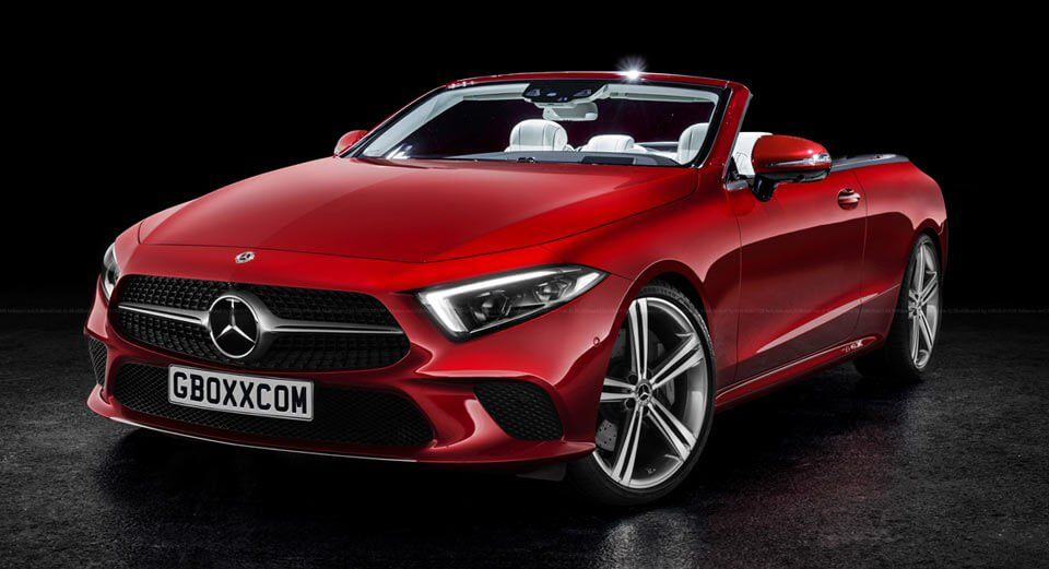 2019 Mercedes Benz Cls Rendered As A Coupe Cabriolet And Amg