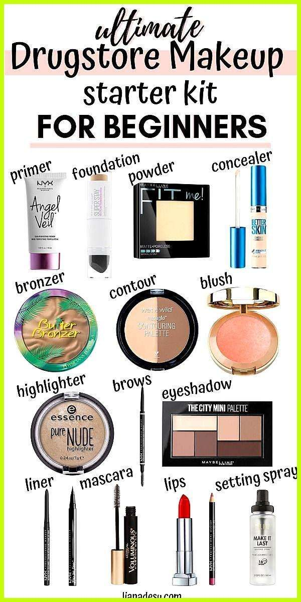 Ultimate Drugstore Makeup Starter Kit für Anfänger Das
