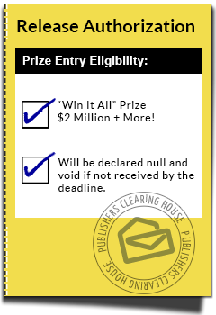 Official Online Entry Form ::: | Places to Visit Pch Sweepstakes