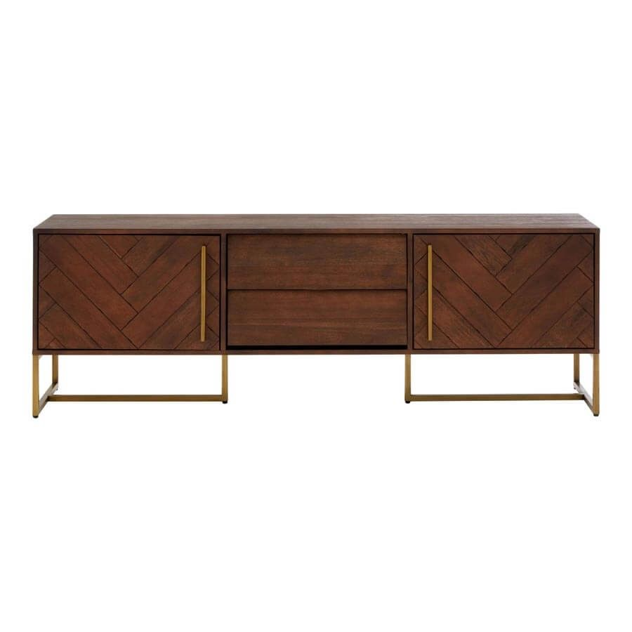 Bravo Antique Brass Living Room Tables and TV Unit | Online At ...