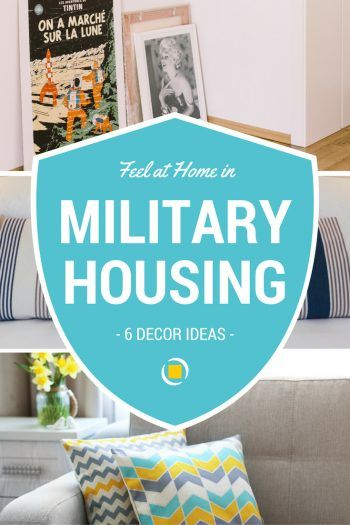 How To Make Your Military Housing A Home Military Housing Military Home Decor Military Housing Decorating