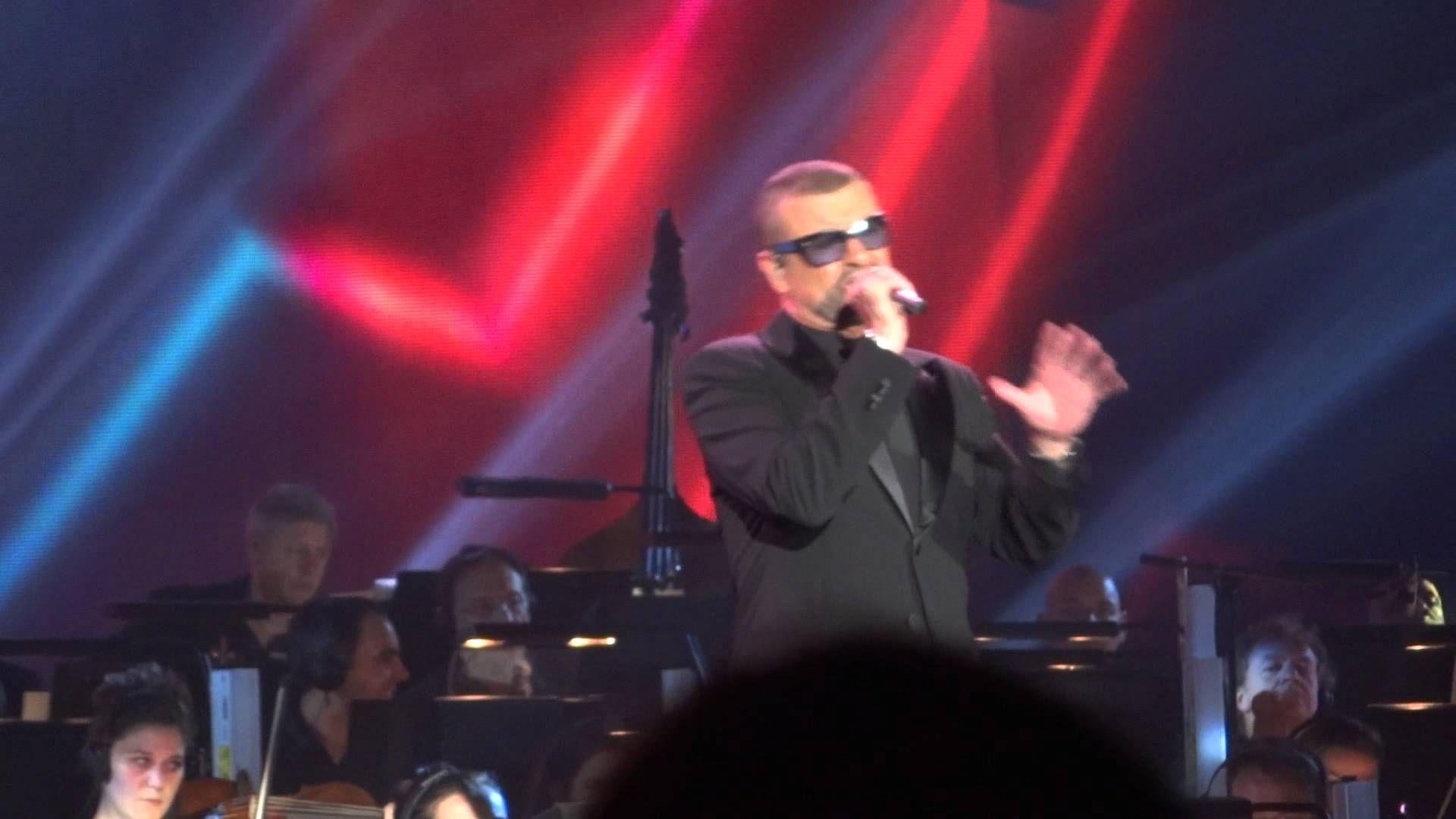 George Michael Symphonica Orchestral Concert Tour - Echo Arena - 10/10/2012