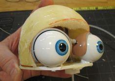 Puppet Eye Mechanisms Looks Like Homer Simpson D Puppets Professional Puppets Puppets Diy