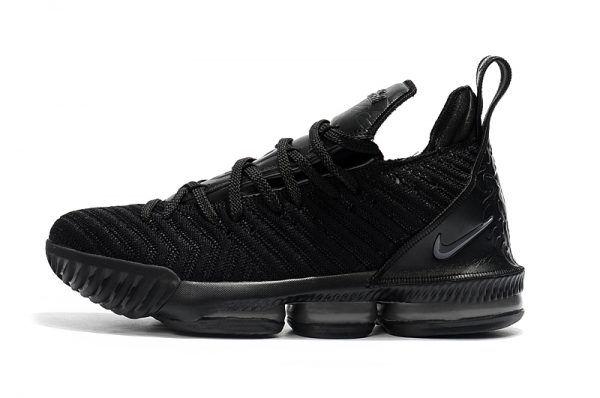 2018 All Black Nike LeBron 16 \