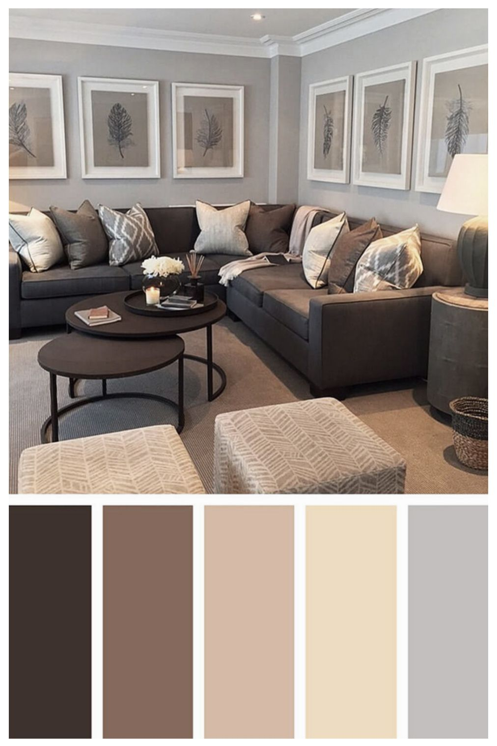 20 Astonishing Living Room Remodel Ideas 2020 L Tips Trends In 2020 Living Room Decor Brown Couch Brown Living Room Decor Living Room Color Schemes