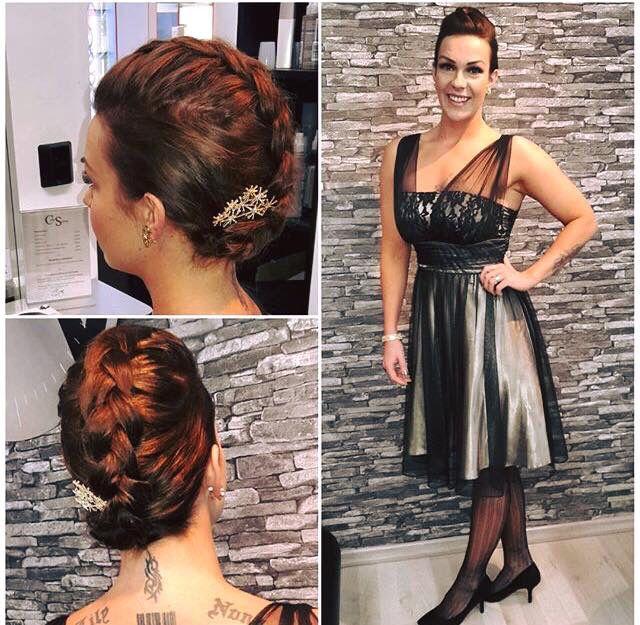 Kaunis Super äiti, bloggaaja, fitness urheilija Sara Liimatan hiusten laitto häitä varten!