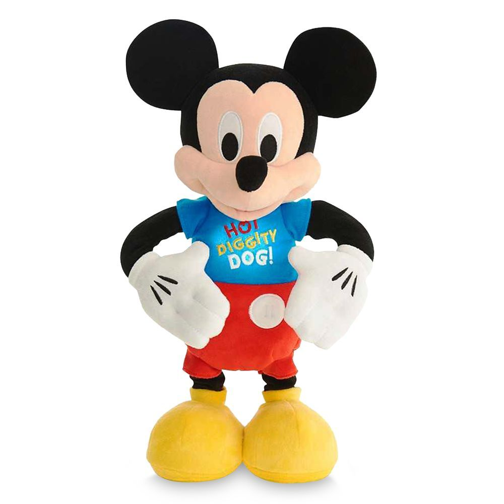 Mickey Mouse Hot Diggity Dance Play Plush Mickey Mouse Best