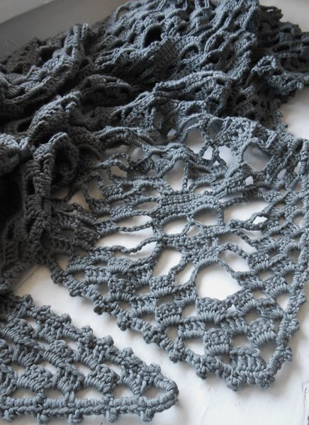 Skull Shawl Francais 003 Crochet Pinterest Shawl Crochet And