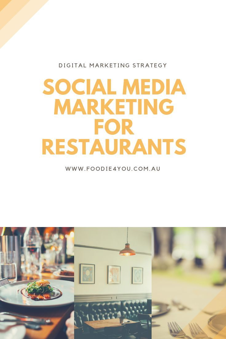 How to use social media in a restaurant cafe fast food