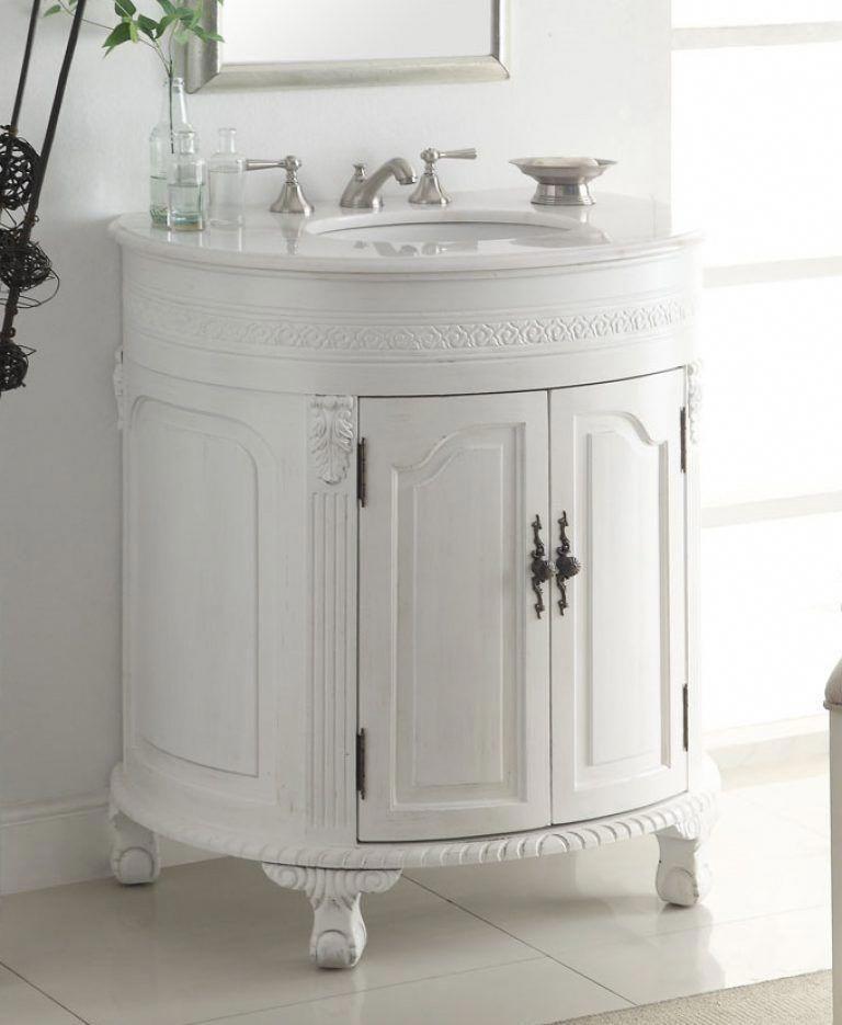 Decoration Innovative Single Bathroom Vanity Adelina 32 Inch