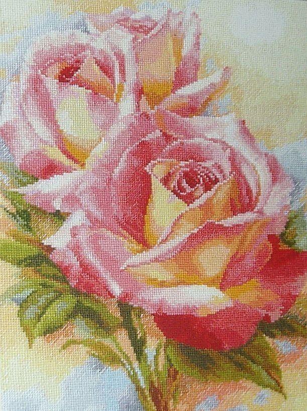 Alisa Cross Stitch Kit The Breath of Rose Charm