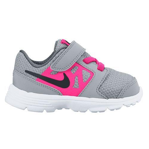 $34 Image for NIKE DOWNSHIFTER 6 G-TD:Pink/Grey:08 Footwear