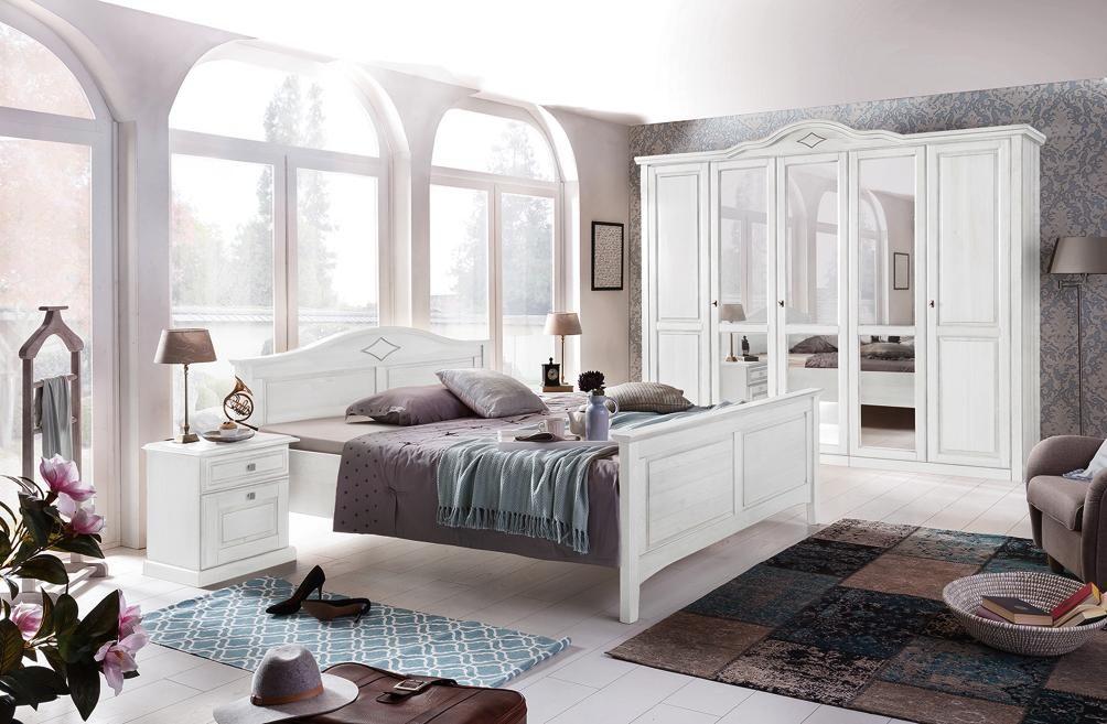 SCHLAFZIMMER in Weiß | Pinterest | Komplettes schlafzimmer ...