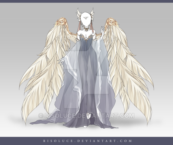 (CLOSED) Adoptable Outfit Auction 119 by Risoluce.deviantart.com on @DeviantArt | Luna ...