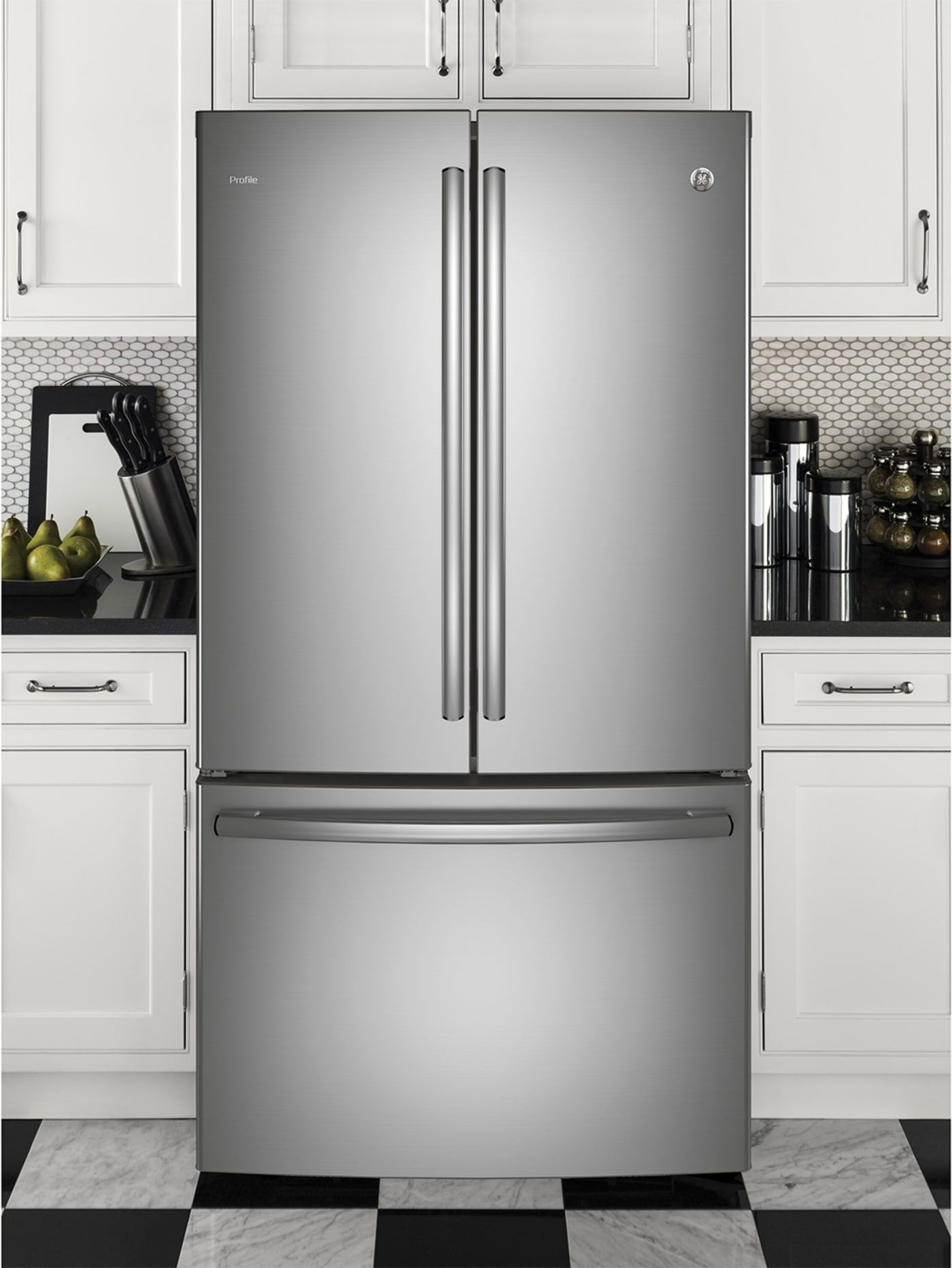 Ge Pwe23kskss In 2019 Home Decor French Door Refrigerator