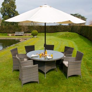 Garden Furniture 6 Seater goodrick 6 seater garden furniture set | conservatory | pinterest