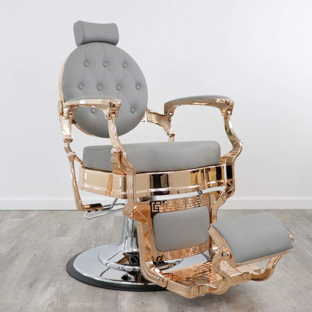 Toronto Rose Gold Barber Chair In 2020 Barber Chair For Sale