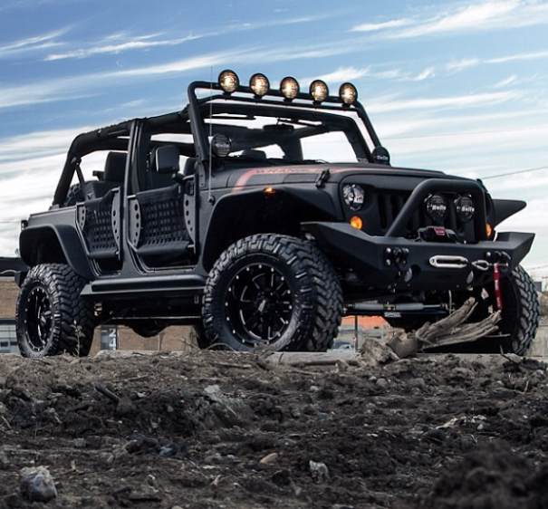 Starwood Motors Custom El Diablo Jeep Jeeps Jk Custom Cars