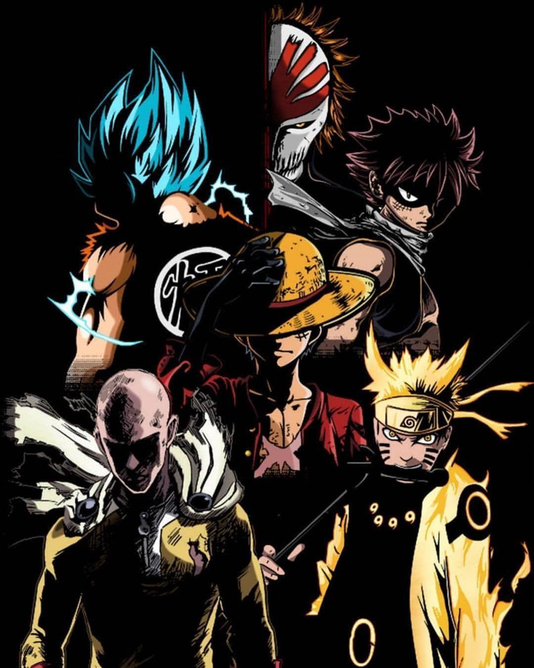 No Hay Texto Alternativo Automatico Disponible Anime Main Characters Anime Crossover Anime