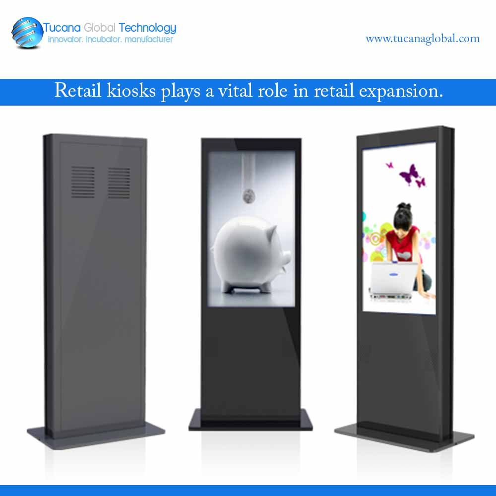 By placing #kiosks at #strategic #locations, a #retailer has the #ability to #reach #more #customers #without a #costly #investment. This approach #increases #revenue #opportunities by #expanding the #customer base which #increases the #potential for the #retailer to #sell more #products. #TucanaGlobalTechnology #Manufacturer #Hongkong