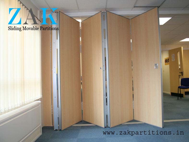 India 39 s 1 acoustic sliding folding partition manufacturer for Sliding door partition wall