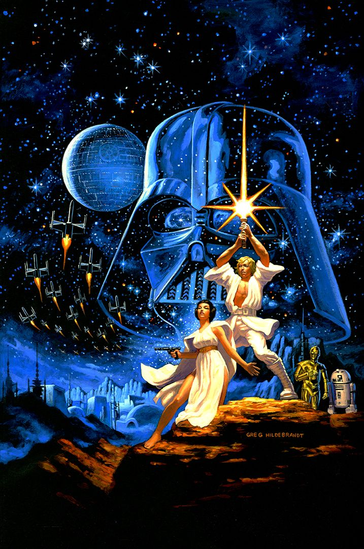 """The Art of """"Star Wars"""": The Force Behind the Most Iconic Image in the Cinematic Universe"""