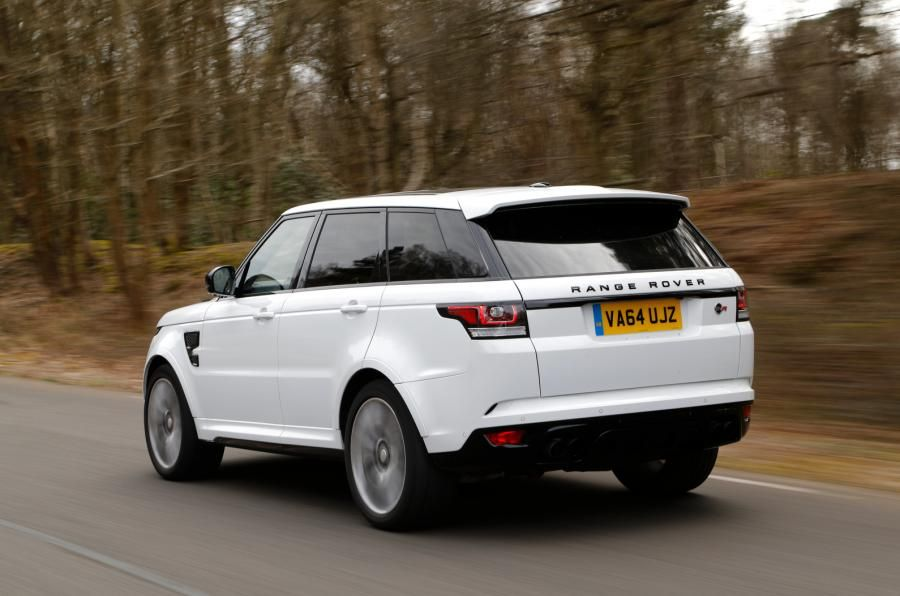 Land Rover Range Rover Sport SVR review (With images