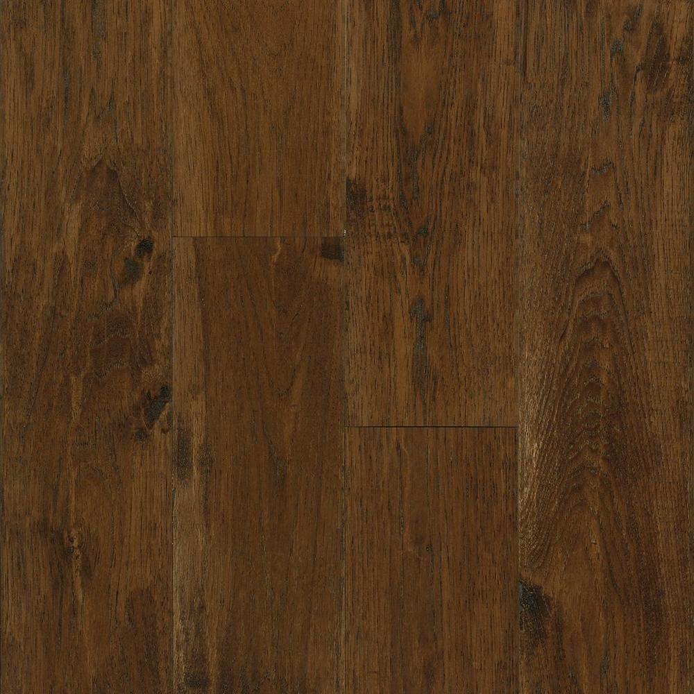 Cider Hickory Hand Scraped Solid Hardwood Hickory Flooring