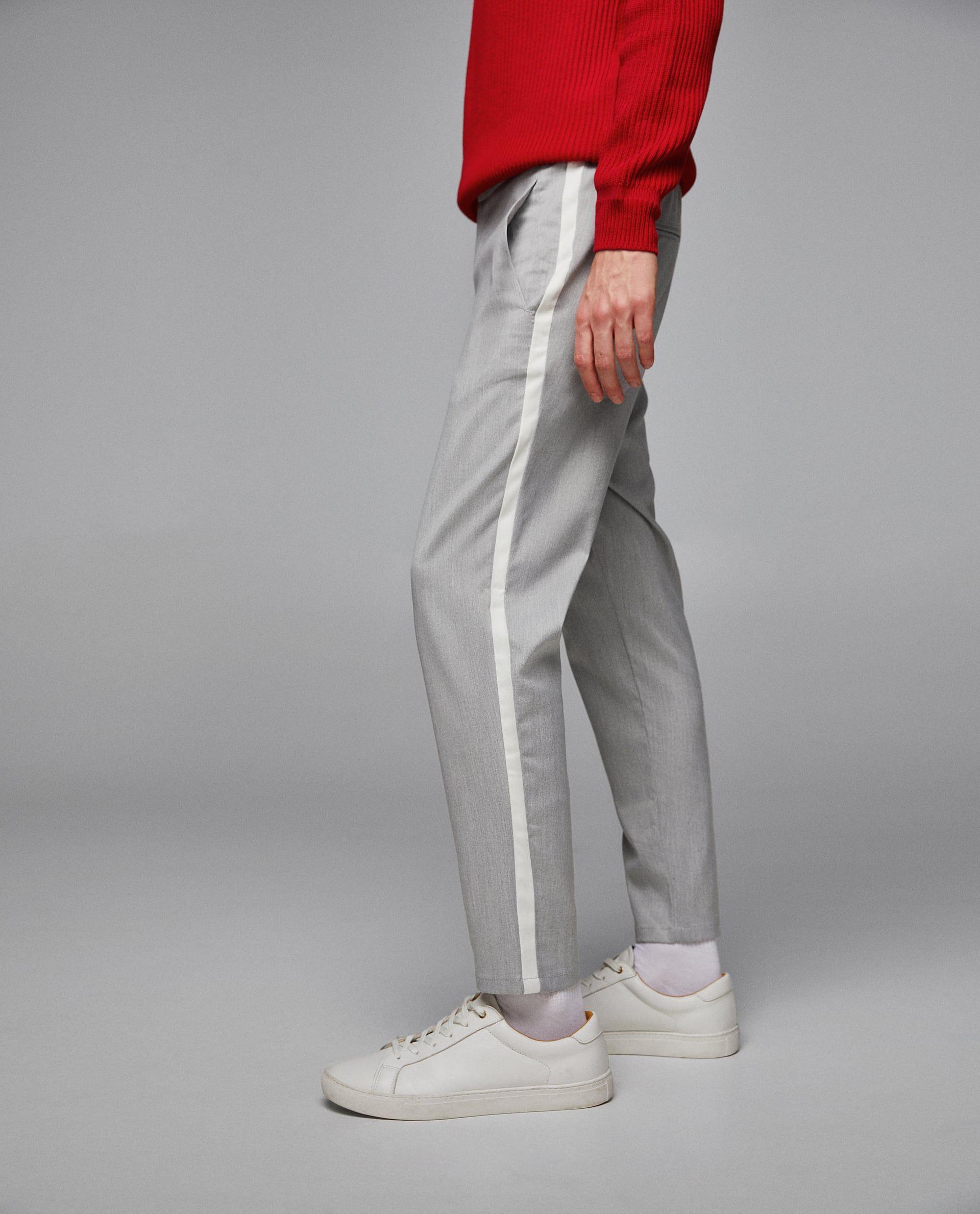 Pantalones De Hombre Nueva Coleccion Online Zara Mexico Mens Casual Outfits Well Dressed Men Mens Dress Pants