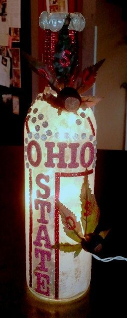 Hey, I found this really awesome Etsy listing at https://www.etsy.com/listing/123840843/ohio-state-buckeye-wine-bottle-with