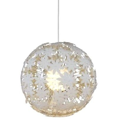 Floral cut-out pendant light shade. £72.99  http://www.lightsworld.co.uk/p/Nave_Large_Round_White_Pendant_Light.htm