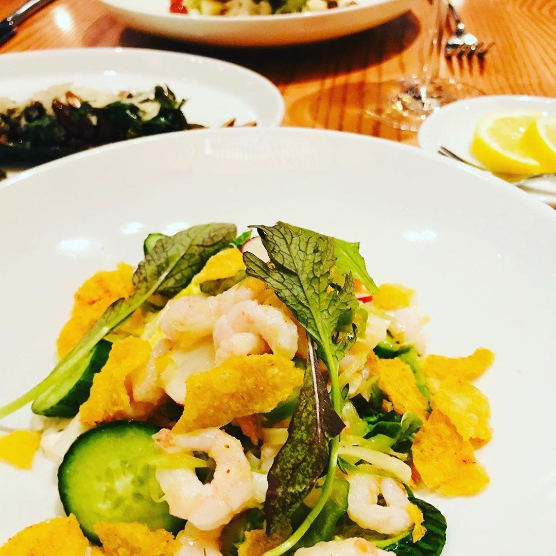 Shrimp salad 🥗