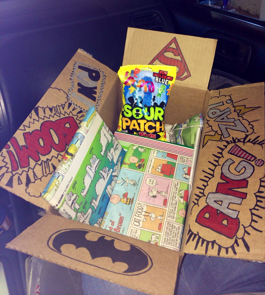 Made This Care Package For My Boyfriend S Birthday He S