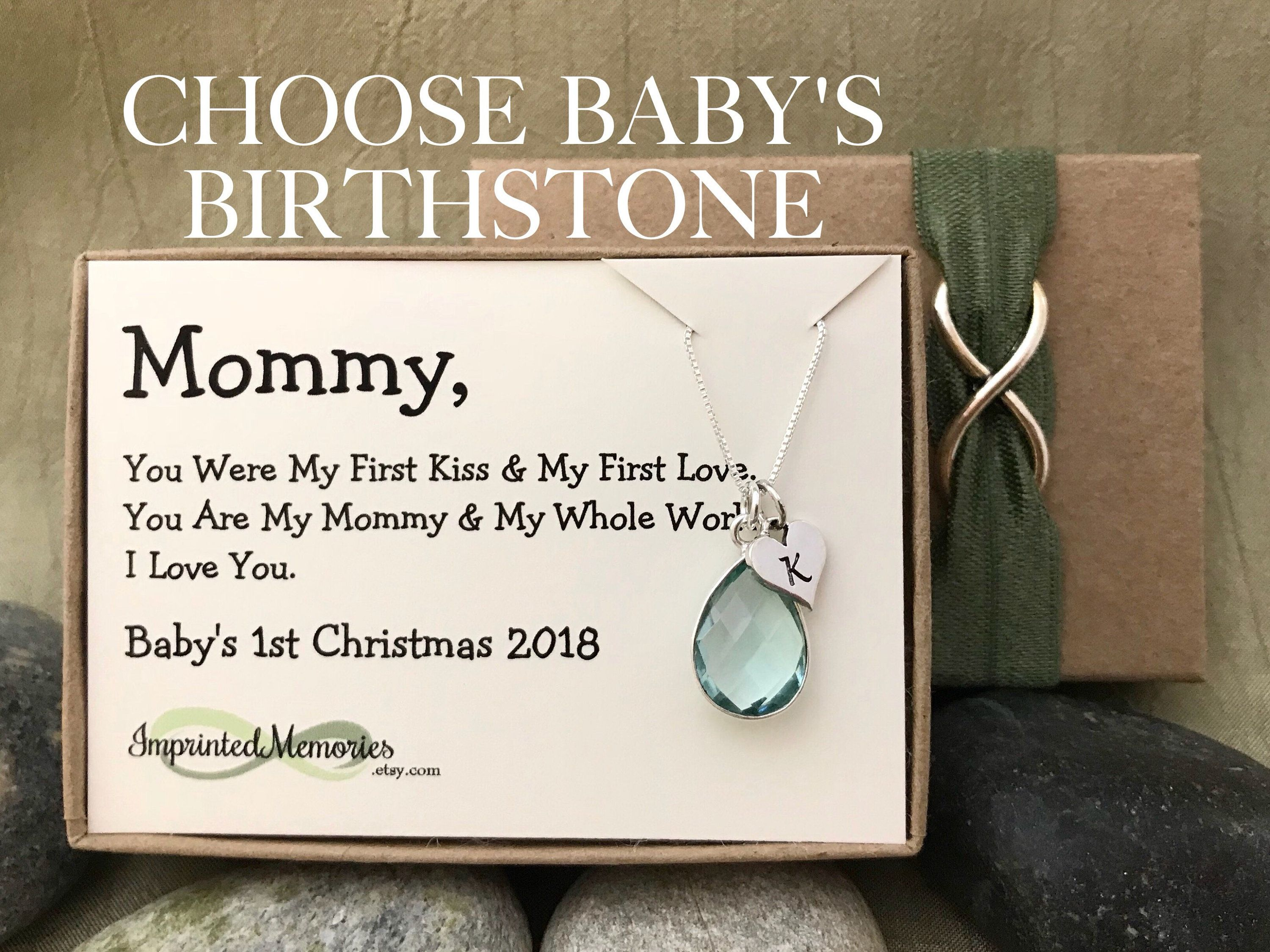 Baby\'s First Christmas 2018 Gift for New Mom Gift for Mommy from ...