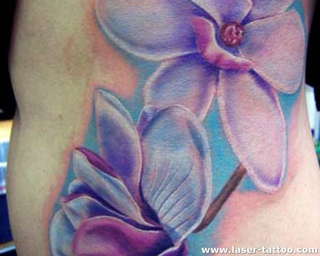 Colorful flower tattoo tattoos pinterest colorful flower jasmine tattoo meaning of the jasmine flower is grace and elegance izmirmasajfo Images
