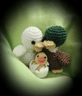 Ravelry Enten Ducks Pattern By Conni Hartig Crochet Birds