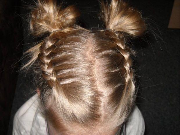 Zöpfe Geflochtene Zöpfe Und Haarknoten Kinderfrisuren Frisuren