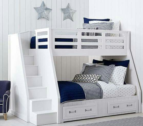 Pin de Maitry en bunk bed | Pinterest | Litera, Literas construidas ...
